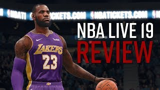 NBA Live 19 Review - This Isn't 'The One' Yet