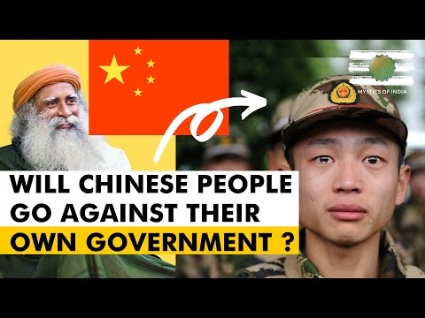 Sadhguru's Prediction about India and China   Will Chinese People Turn Against Their Government ?
