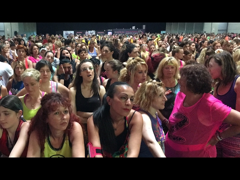 WAITING BETO ZUMBA FITNESS at RIMINI WELLNESS 2015