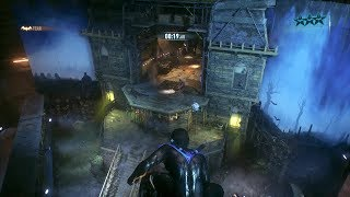 Batman Arkham Knight Nightwing on the Predator map Stage Fright