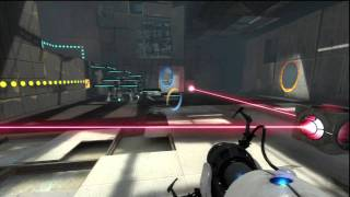Portal 2 (PS3) Gameplay Part1