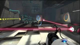 Portal 2 (PS3) Gameplay Part1