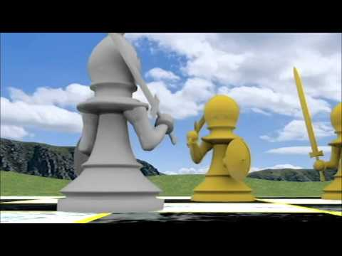 Chess Battle Animation