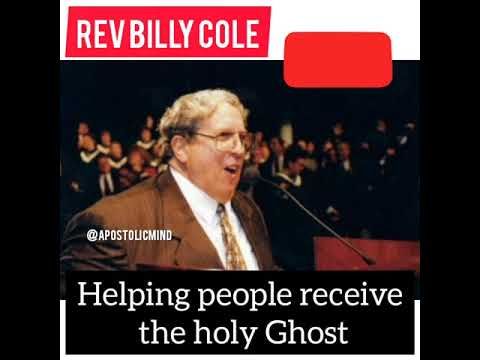 Billy Cole | Helping People Receive The Holy Ghost