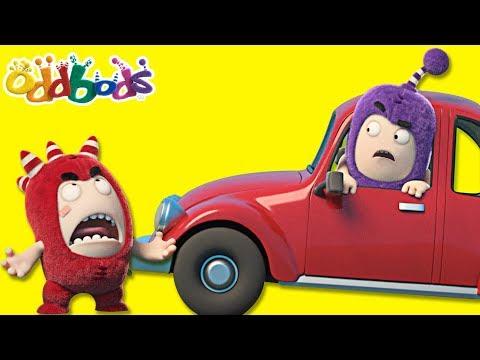 Oddbods | CAR CATASTROPHE | Oddbods Compilation | Funny Cartoons For Children