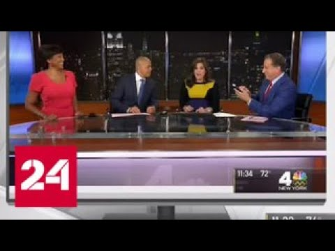 Американская журналистка не прекратила выпуск новостей, несмотря на начавшиеся роды - Россия 24