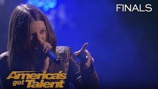 "Courtney Hadwin: Sensational Singer Rocks ""River Deep Mountain High"" - America's Got Talent 2018"