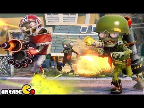 Plants Vs. Zombies Garden Warfare Team Vanquish Chomp Town