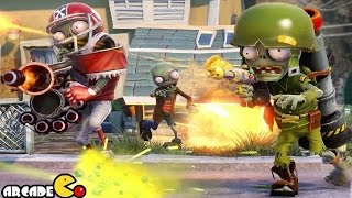 Plants Vs. Zombies Garden Warfare Team Vanquish Chomp Town