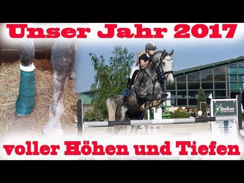 UNSER JAHR 2017 | Von Beinbruch bis neuem Pferd alles dabei | MA Chevaux De Sport