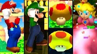 Super Mario ALL MEGA MUSHROOMS 2004-2015 (Wii U, 3DS, DS)