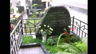 Любимые актеры на московских кладбищах часть I