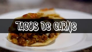 Tacos de Carne y Queso | Recetas Express