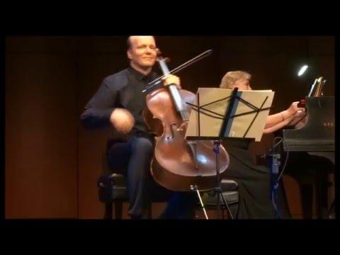 Truls Mork, Bernadene Blaha, play Sibelius and Grieg