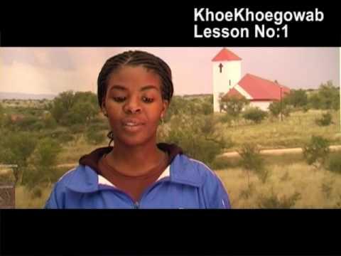 KhoeKhoegowab Lesson No:1