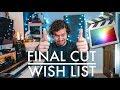 Final cut pro wish list of features | Dear Apple...
