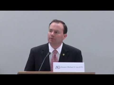 Keynote Remarks by Senator Mike Lee 5-13-2014