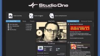 Getting Started: Studio One for Pro Tools Users