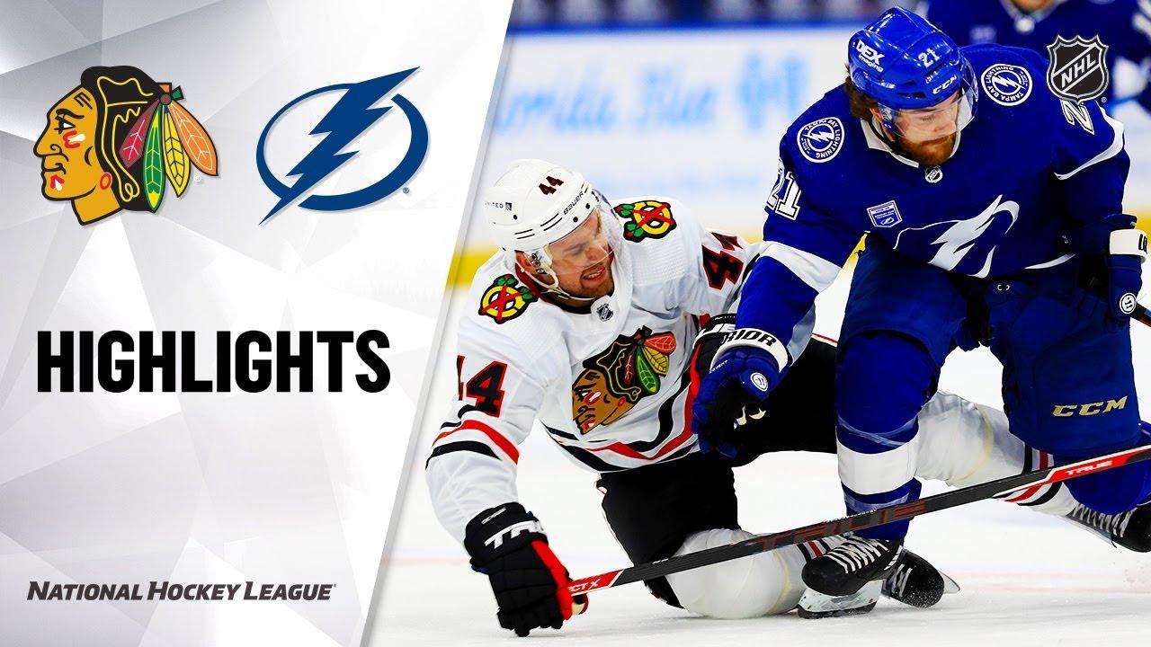 NHL Highlights   Blackhawks @ Lightning 1/13/21 – NHL