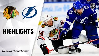 NHL Highlights | Blackhawks @ Lightning 1/13/21