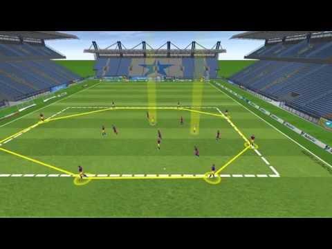 3D - Position Game - (10+2) v 6 - FC Barcelona