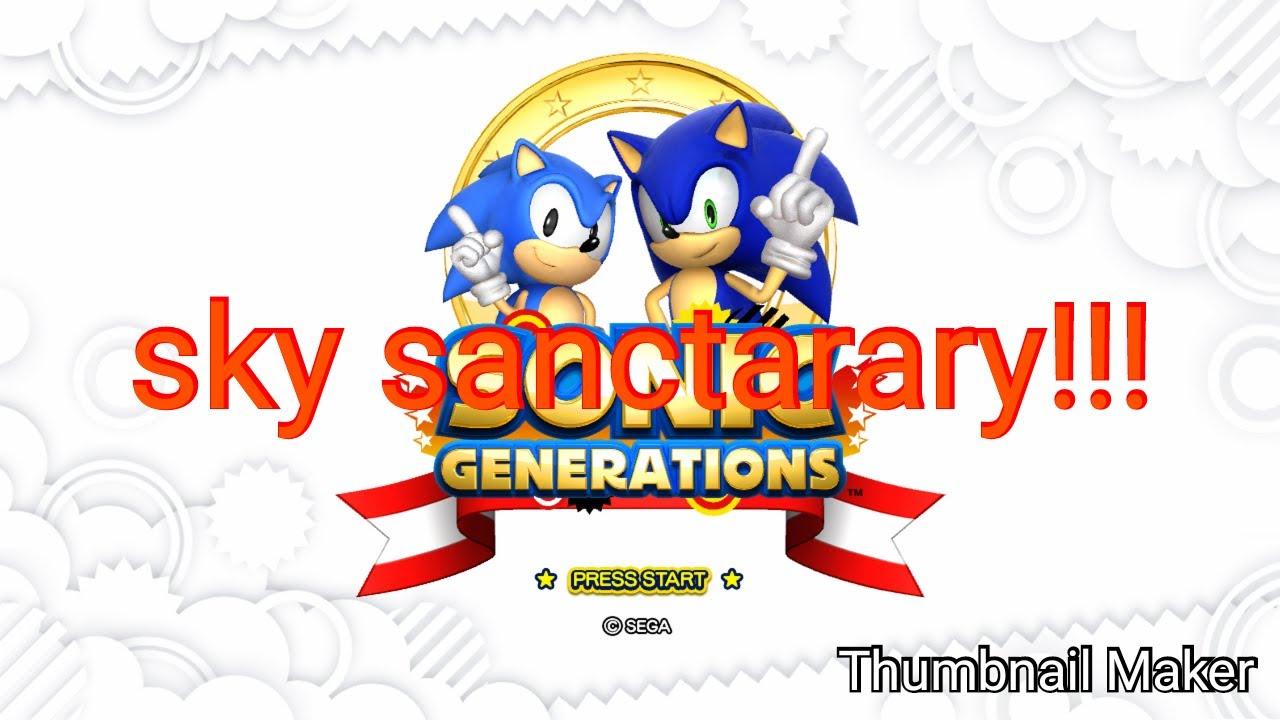 Sonic generation part 3:sky sanctary