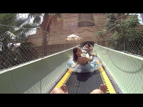 Coaster Tower Water Slide at Atlantis the Palm