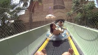Coaster Tower Water Slide at Atlantis the Palm