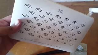 Fiber maroc telecom Test wifi ZTE F680  dual band WIFI AC
