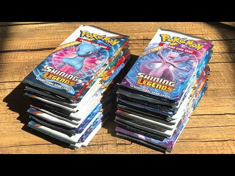 Pokemon Cards SHINING LEGENDS BOOSTER BOX OPENING! (RAREST CARD pulled TWICE!)