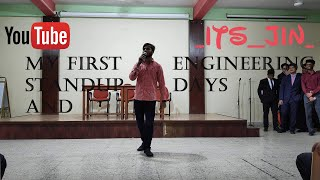 My First STAND UP And ENGINEERING Life