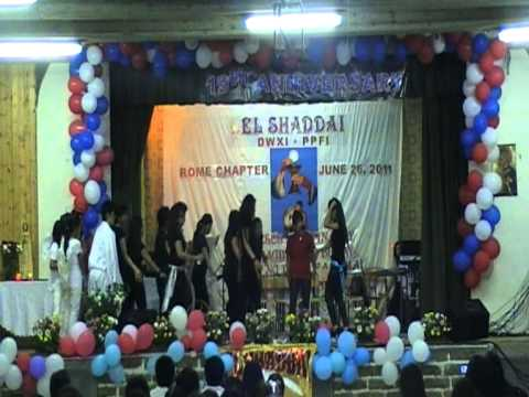 THE YOUTH MINISTRY PRESENTATION 19th ANNIVERSARY EL SHADDAI ROME CHAPTER