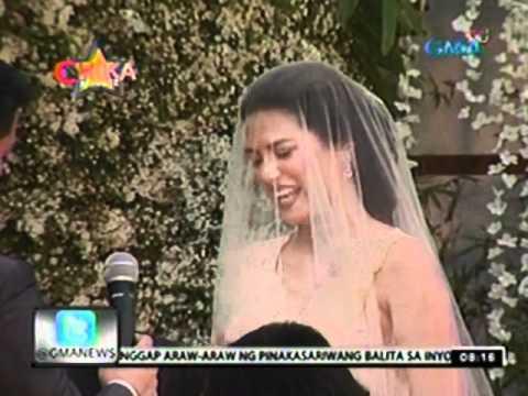 24 Oras: Marco Alcaraz At Precious Lara Quigaman, Ikinasal Na
