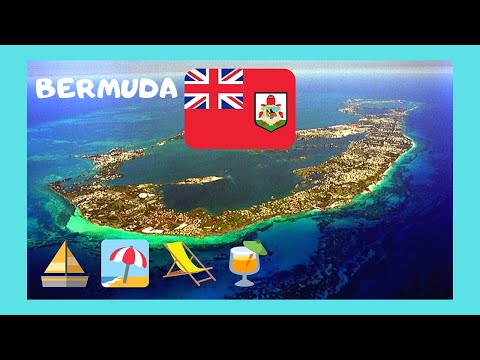 LANDING in beautiful BERMUDA, spectacular views