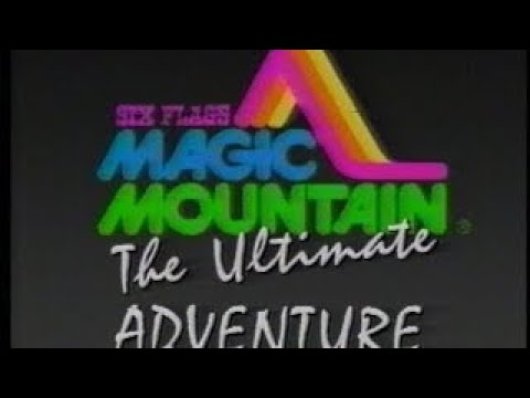 Old Six Flags Magic Mountain Video from the Late 1980s Enjoy