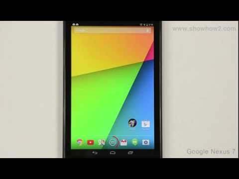 Google Nexus 7 - Quick Office Introduction  Word Document