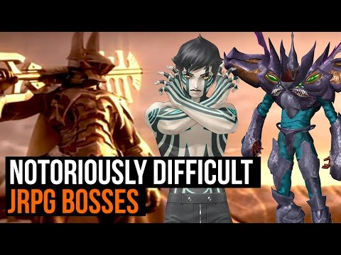 Most Notoriously Difficult JRPG Bosses