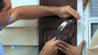 Diy How To Install Exterior Shutters With Spikes | Mobile Home Parts Store