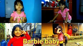 Youme nepali barbie and her cute movements