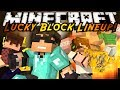 Minecraft Modded Mini-Game : LUCKY BLOCK LINEUP!