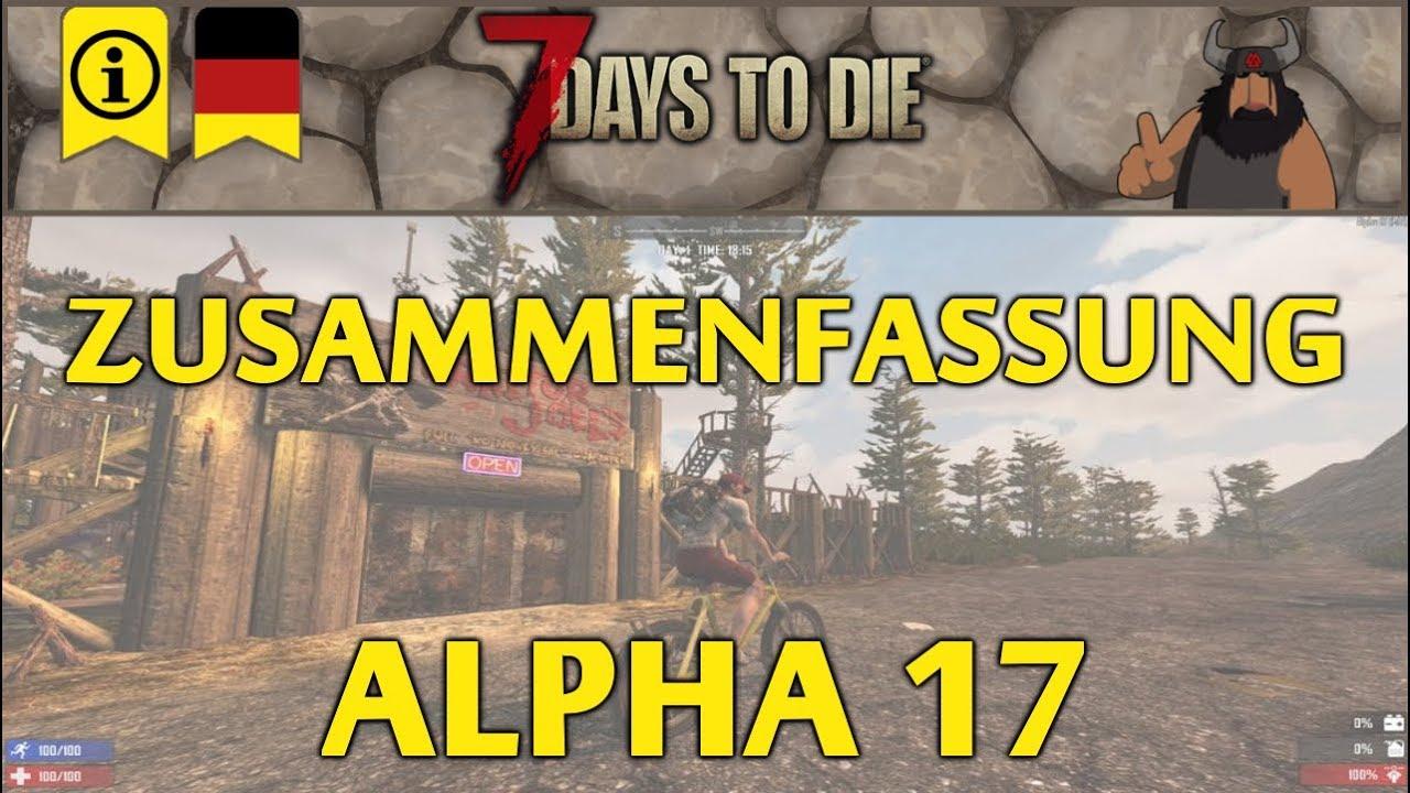 [7 Days to Die] Große Alpha 17 Vorschau - Info - deutsch/german