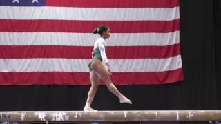 Gabby Douglas - Balance Beam - 2016 Secret U.S. Classic - Senior