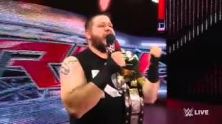 WWE Raw: Kevin Owens et John Cena parlent français
