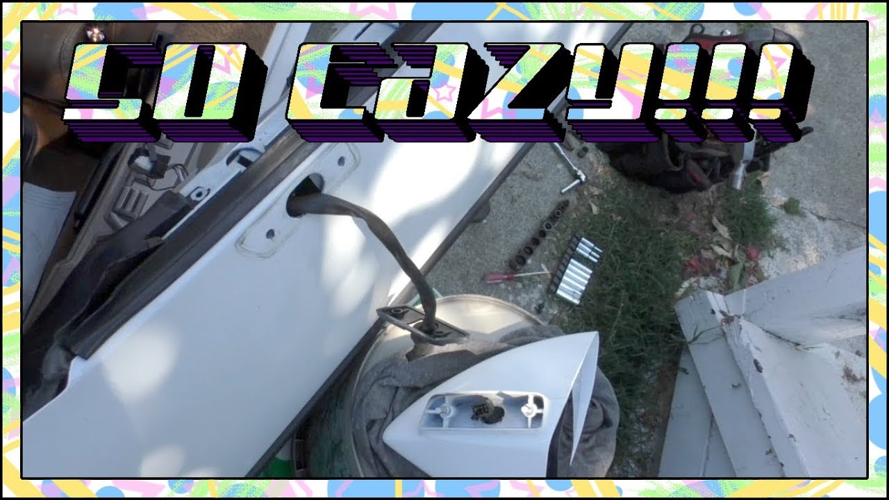 C4 Corvette Side Mirror Removal🔧 on