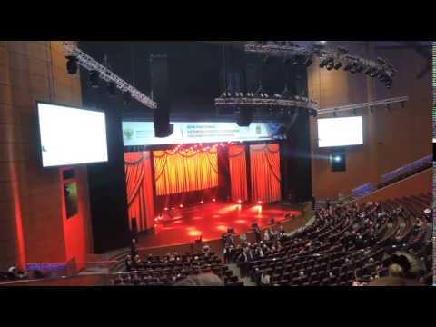 Зал крокус сити холл - день автомобилиста 2016 - видео на ка.