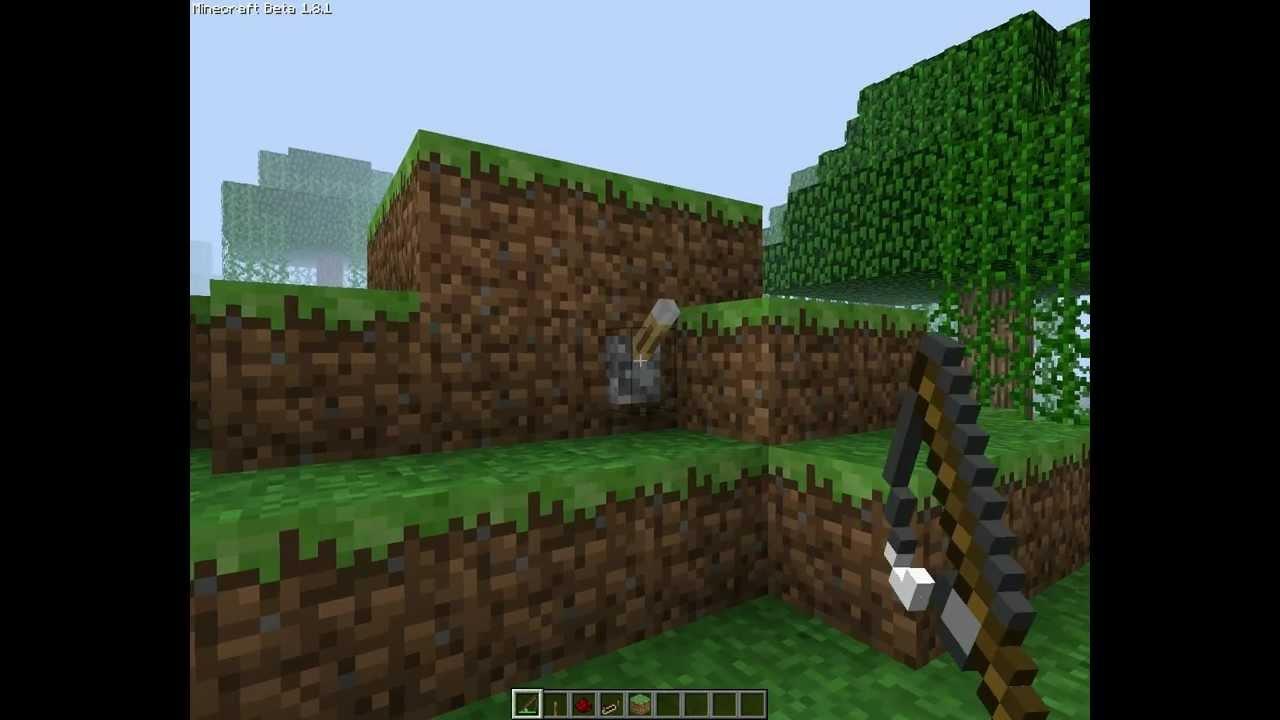Minecraft- Reversable hidden stone door & Minecraft- Reversable hidden stone door - YouTube