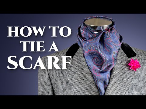 How To Tie Scarf