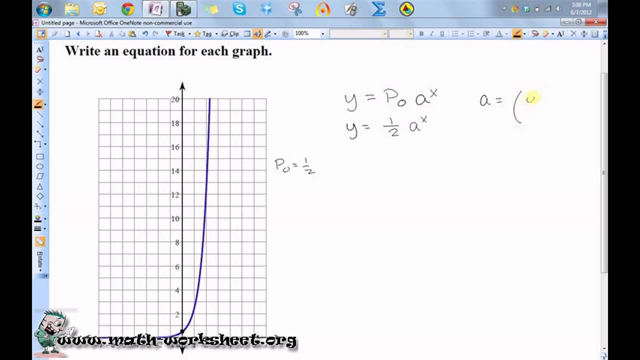 Exponential function exercises with answers pdf