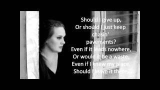 Adele Chasing Pavements Karaoke/Instrumental