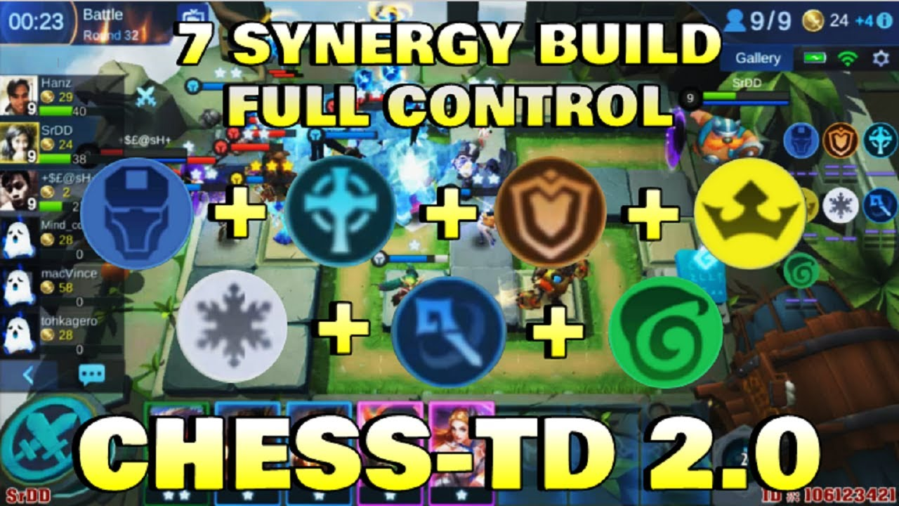 7 synergy build - chess td 2.0 gameplay | mobile legends bang bang